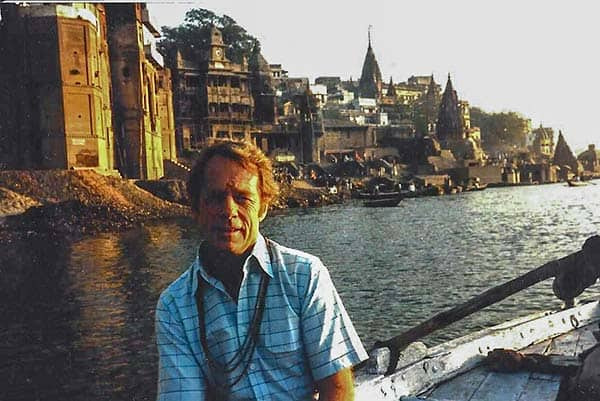 Jerry Jones at the Ganges River